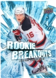 2010/11 Upper Deck Rookie Breakouts #RB20 Jacob Josefson /100