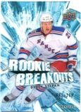2010/11 Upper Deck Rookie Breakouts #RB22 Derek Stepan /100