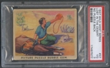1937 Wild West #37 Lost in the Desert No Puzzle Back PSA 3 (VG) *7577