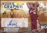 2005/06 Upper Deck SP Signature Edition Rookie GRAPHiti #DL David Lee Autograph /100