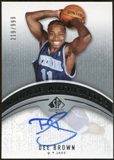 2006/07 Upper Deck SP Authentic #104 Dee Brown RC Autograph /999