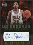 2006/07 Upper Deck UD Reserve Signatures #CD Chris Duhon Autograph