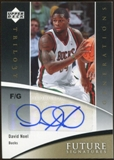 2006/07 Upper Deck Trilogy Generations Future Signatures #FSDN David Noel Autograph