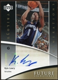 2006/07 Upper Deck Trilogy Generations Future Signatures #FSKL Kyle Lowry Autograph
