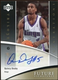 2006/07 Upper Deck Trilogy Generations Future Signatures #FSQD Quincy Douby Autograph