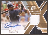 2009 Upper Deck SPx Game Jersey Autographs #GJABH Bill Hall Autograph