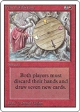 Magic the Gathering Unlimited Single Wheel of Fortune LIGHT PLAY (NM)
