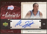 2007/08 Upper Deck Artifacts Autofacts #AFSL Shaun Livingston Autograph