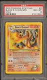 Pokemon Gym Challenge Single Blaine's Charizard 2/132 - PSA 8