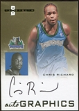 2007/08 Fleer Hot Prospects Autographics #CR Chris Richard Autograph