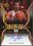 2007/08 Upper Deck SP Game Used SIGnificance #SITS Thabo Sefolosha Autograph