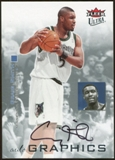 2007/08 Fleer Ultra SE Autographics Black #AUSM Craig Smith Autograph