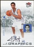 2007/08 Fleer Ultra SE Autographics Black #AUAU James Augustine Autograph