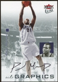 2007/08 Fleer Ultra SE Autographics Black #AUPM Paul Millsap Autograph