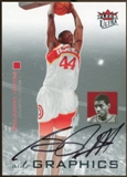 2007/08 Fleer Ultra SE Autographics Black #AUSJ Solomon Jones Autograph
