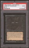 Magic the Gathering Beta Single Word of Command PSA 9