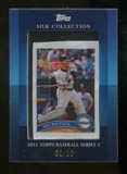 2011 Topps Series 1 Jose Bautista Silk Collection serial # 39/50