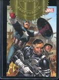 2013 Rittenhouse Marvel Greatest Battles Secret Warriors Case Toppers #CT1 Captain America and Nick Fury
