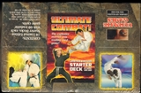 Ultimate Combat! Starter Deck Box (1995 Ultimate Games)