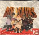 Dinosaurs Trading Card Box (1992 Pro Set)