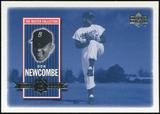 2000 Upper Deck Brooklyn Dodgers Master Collection #BD6 Don Newcombe /250