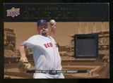 2008 Upper Deck UD Game Materials 1999 Patch #DW David Wells