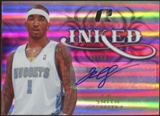 2008/09 Upper Deck Radiance Inked #ISM J.R. Smith Autograph /99