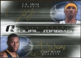 2008/09 Upper Deck Radiance Marks Dual #DMSW J.R. Smith/Sonny Weems Autograph /50