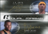 2008/09 Upper Deck Radiance Marks Dual #DMSW J.R. Smith Sonny Weems Autograph 35/50