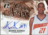 2008/09 Upper Deck Radiance Name Tag Autographs #NTAA Alexis Ajinca