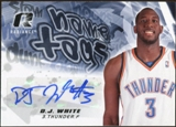 2008/09 Upper Deck Radiance Name Tag Autographs #NTDW D.J. White