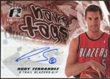 2008/09 Upper Deck Radiance Name Tag Autographs #NTRF Rudy Fernandez