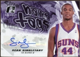 2008/09 Upper Deck Radiance Name Tag Autographs #NTSS Sean Singletary