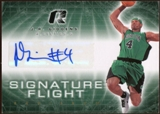 2008/09 Upper Deck Radiance Signature Flight #SFJG J.R. Giddens Autograph