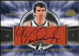 2008/09 Upper Deck Radiance Sweet Shot Autographs #SSKV Kiki Vandeweghe SP