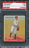 1933 Goudey Baseball #157 Sam Byrd PSA 7 (NM) *6858