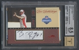 2004 Fleer Showcase #BR Ben Roethlisberger Sweet Sigs Red Rookie Auto #33/68 BGS 8.5
