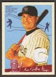 2008 Upper Deck Goudey Memorabilia #MH Matt Holliday