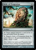 Magic the Gathering Shards of Alara Single Relic of Progenitus UNPLAYED (NM/MT)