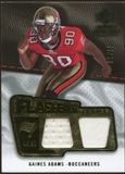 2008 Upper Deck SP Rookie Threads Flashback Fabrics 50-60 #FFGA Gaines Adams 49/60