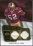2008 Upper Deck SP Rookie Threads Flashback Fabrics 85-90 #FFPW Patrick Willis 36/85