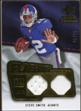 2008 Upper Deck SP Rookie Threads Flashback Fabrics 85-90 #FFSS Steve Smith 45/85