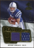 2008 Upper Deck SP Rookie Threads Flashback Fabrics #FFAG Anthony Gonzalez /115