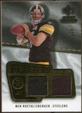 2008 Upper Deck SP Rookie Threads Flashback Fabrics #FFBR Ben Roethlisberger /115