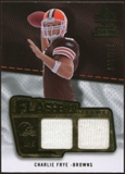 2008 Upper Deck SP Rookie Threads Flashback Fabrics #FFCF Charlie Frye /115
