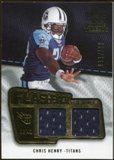 2008 Upper Deck SP Rookie Threads Flashback Fabrics #FFCH Chris Henry /115