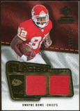 2008 Upper Deck SP Rookie Threads Flashback Fabrics 99-115 #FFDB Dwayne Bowe /115