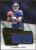 2008 Upper Deck SP Rookie Threads Flashback Fabrics 99-115 #FFEM Eli Manning /115