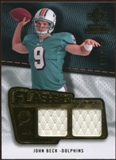 2008 Upper Deck SP Rookie Threads Flashback Fabrics 99-115 #FFJB John Beck /115
