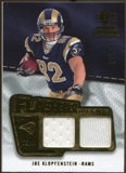 2008 Upper Deck SP Rookie Threads Flashback Fabrics #FFJK Joe Klopfenstein /115